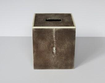 Genuine Shragreen Tissue Box