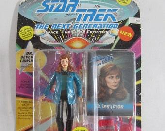 Vintage 1993 Star Trek The Next Generation Dr. Beverly Crusher Figure