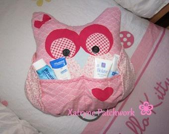 Owl\hibou decorative cushion room baby