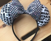 Sparkly Star Wars Mickey Ears