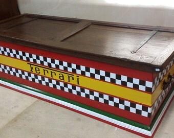 Ferrari chest / bench toy chest
