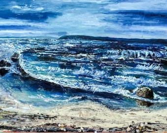 La Tamarissiere Seascape Oil Painting