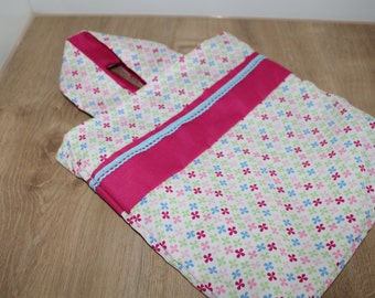 Bag made of cotton fabric