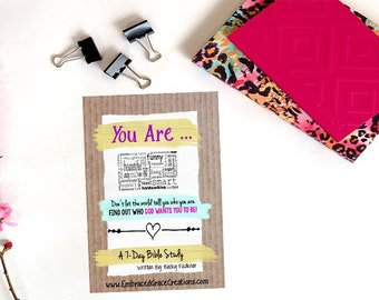 You Are - Devotional/Study Pack