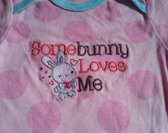 Girls  Bunny Onesie