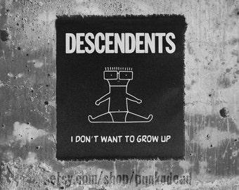 Descendents patch punk patch • back patches • punk fashion • punk clothing • punk aufnäher • punk • punk accessories • sew on patches