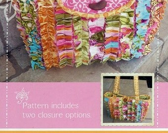 CLEARANCE-Lila Tueller- Snazzy Bag pattern, No 19