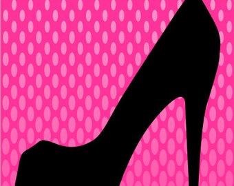 Stiletto High Heel Cornhole Wrap Bag Toss Decal Baggo Skin Sticker Wraps