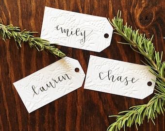 Gift Tag | Name Tag | Rustic Wedding and Event Place Cards