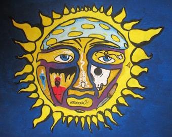 Sublime Sun Painting