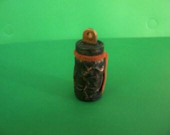 Miniature Halloween  Scary, but cute bottle,