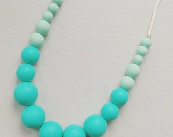 Silicone Teething Necklace Monica- Select color