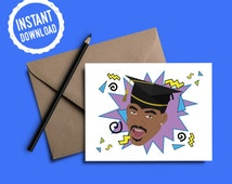 Fresh Prince of Bel-Air Card | Yo College Smell Ya Later | Graduation Card | Instant Download