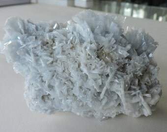 Blue Baryte + Dolomite + yellow Fluorite - Moscona Mine Spain