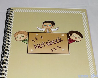 Supernatural Chibi Notebook