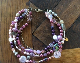 Pink Summer necklace