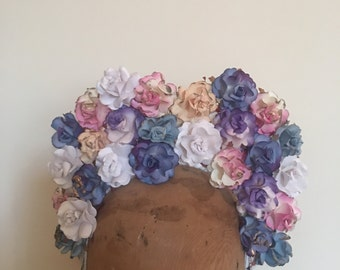 Flower Crown - Multi-Coloured Flower Tiara