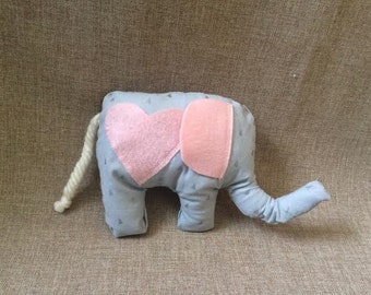 Little Elephant Tooth Fairy Pillow - Tooth Fairy Pillow