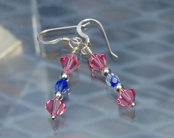Crystal Earrings D77