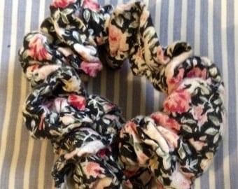 Handmade Floral Hair Scrunchie !!