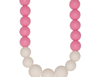 BiteBaby Baby Teether Necklace - Giselle