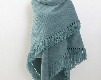 Shawl/scarf (Mint green/green)