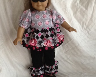 Masquerade Inspired American Girl Doll Outfit