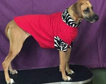 Dog fleece pullover Jammies