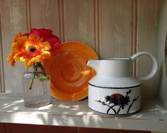 Midwinter stonehenge jug~Midwinter Silhouette jug~RARE midwinter~Midwinter stonehenge~milk jug~stonehenge milk jug~vintage tableware~jug