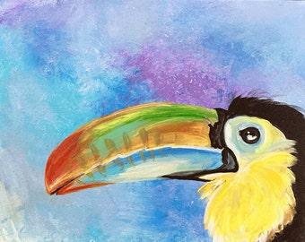 Toucan - Original Acrylic Painting