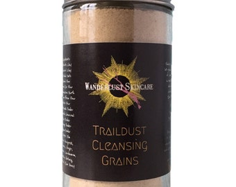 Traildust Cleansing Grains {exfoliating herbal facial wash} 2 oz.