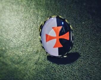 The Templar cross ring
