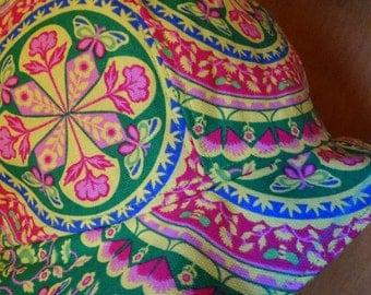 Floral Cloche with Brim