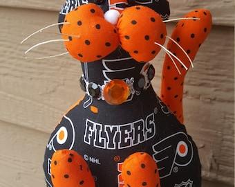 Philadelphia Flyers Hockey Cat