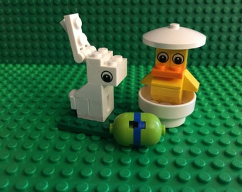 Lego Easter set - chick bunny & egg