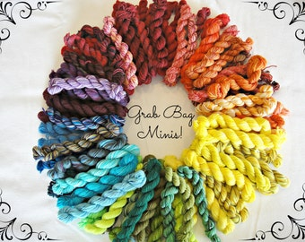 SALE! 10 Mini Skein Grab Bag