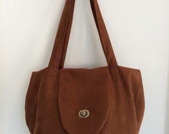 Unique color handcrafted handbag