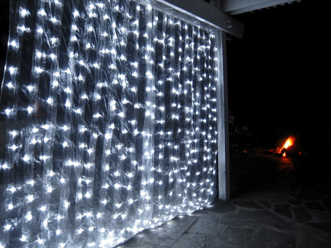 300 Led 9 Ft X 9 Ft Window Curtain Lights String Fairy Light