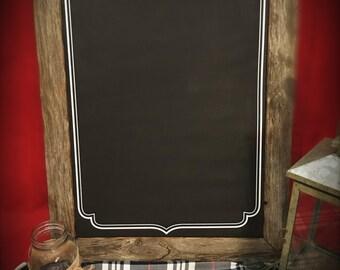 Rustic Chalkboard - Wedding Sign