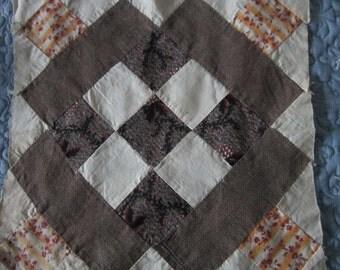 Patchwork Quilt Block circa 1875