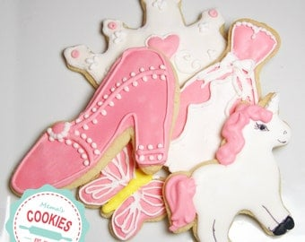 Princess Cookie Assortment  Item #1009