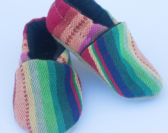 Baby Moccasins, Baby Shoes, Infant Moccasin, Toddler Moccasin, Baby Booties, Crib Shoes, Moccasins - Fiesta Moccs