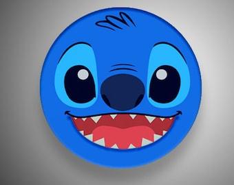 Stitch button