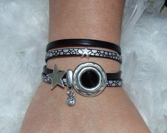 Bracelet clasp swarowski