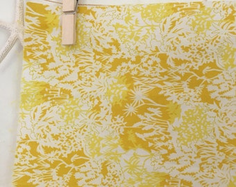 Liberty of London fat eighth, London Tana Lawn, quilting fabric, apparel fabric, Lawn fabric, yellow fabric, yellow quilting cotton