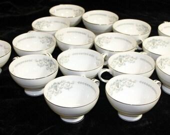 Mikasa China Tea Cups - Set of 16