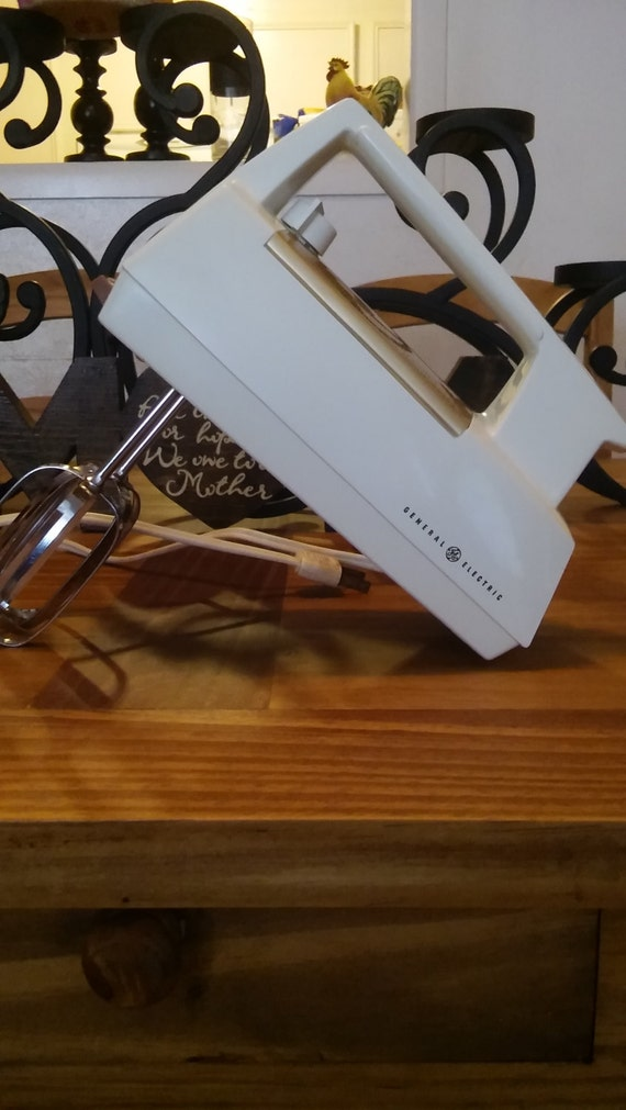 Vintage general electric hand mixer by speakeasyideas on etsy for Antique general electric mixer