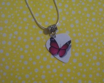 Butterfly Style 2 Pick Necklace