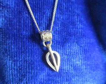 Charles Rennie Mackintosh design Sterling Silver Necklace Pendant Carrick Jewellery Scotland