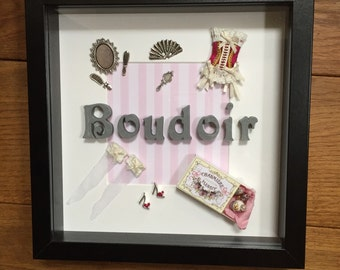 Bedroom, Boudoir Personalised Frame